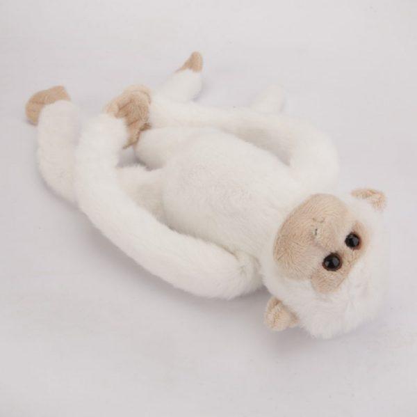 Małpa biała 33 cm