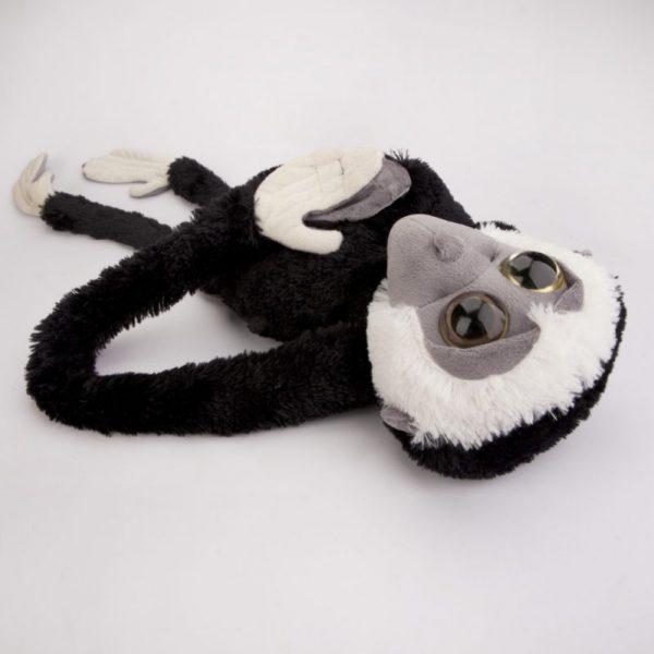Małpa czarno-biała 100 cm