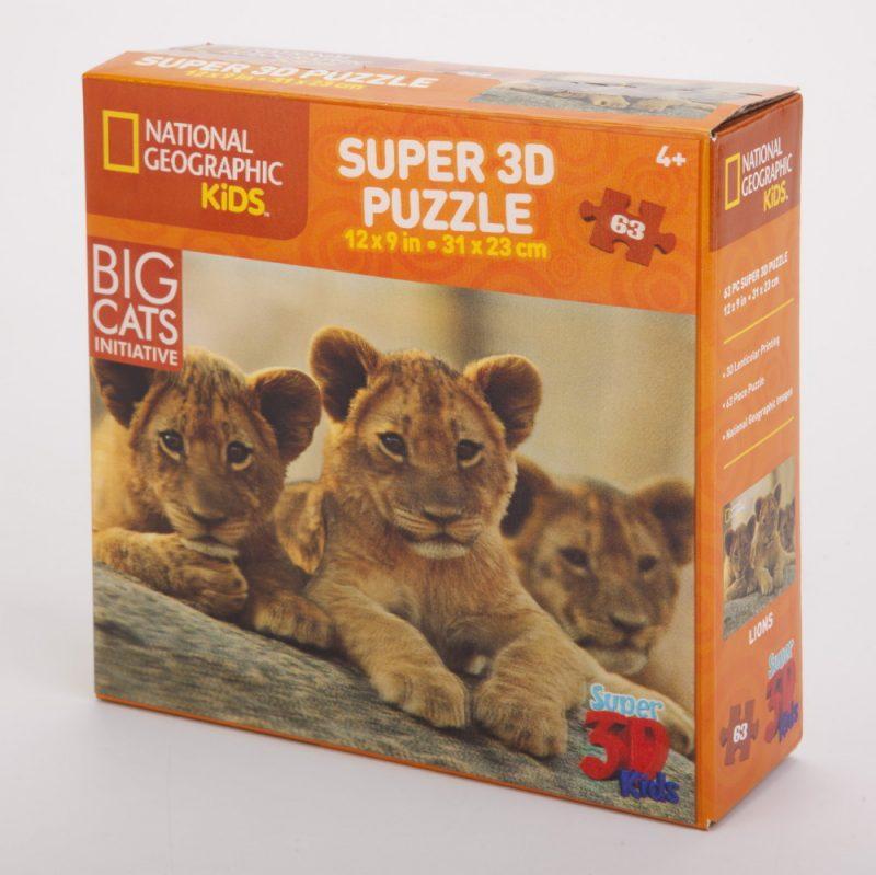 Puzzle 3D lew 63 el