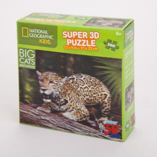 Puzzle 3D jaguar 100 el