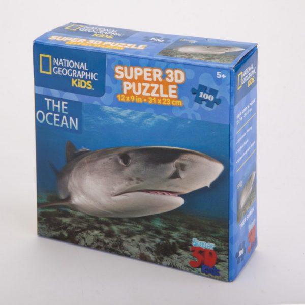 Puzzle 3D rekin 100 el