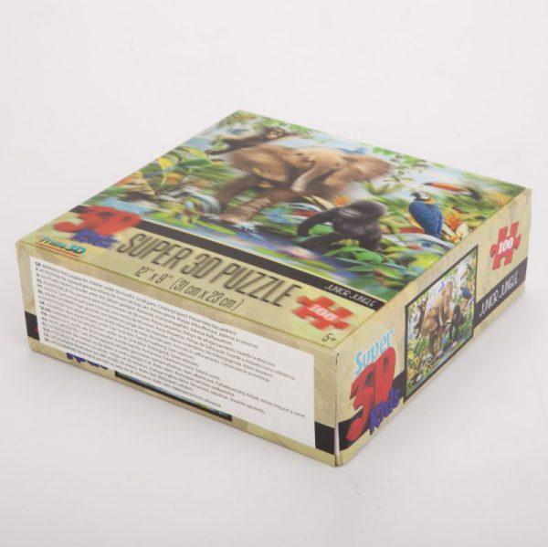 Puzzle 3D dżungla 100 el