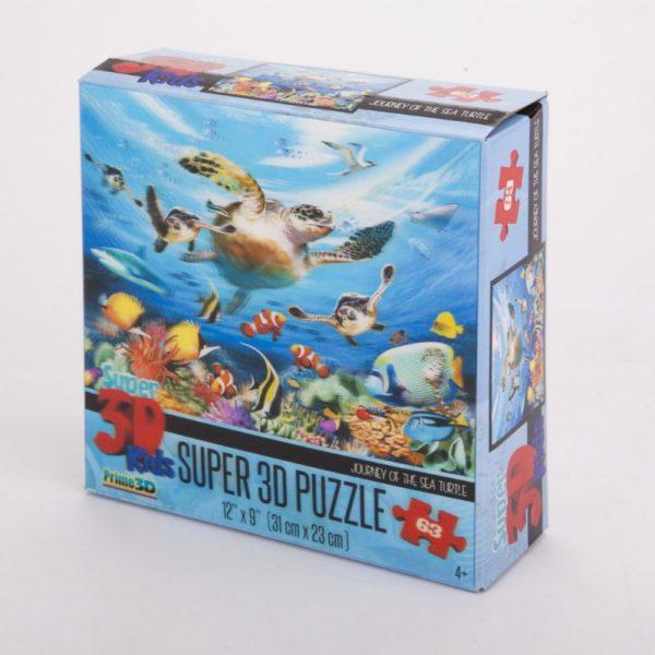 Puzzle 3D ocean 63 el