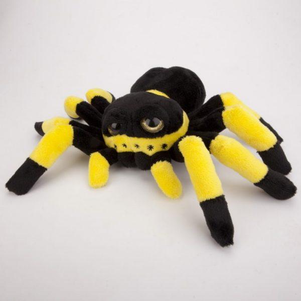 Pająk pluszowy czarno-żółty 20 cm
