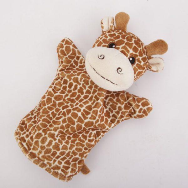 Pacynka na rękę żyrafa 24 cm