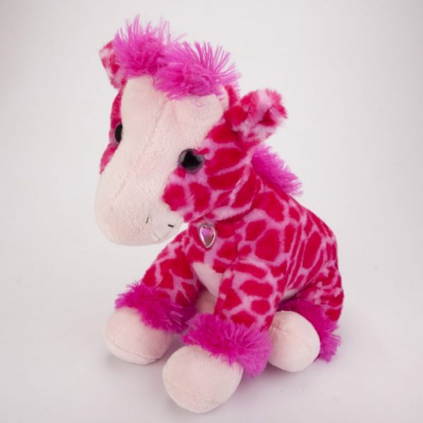Żyrafa różowa 35 cm