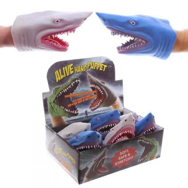 Rekin pacynka na rękę