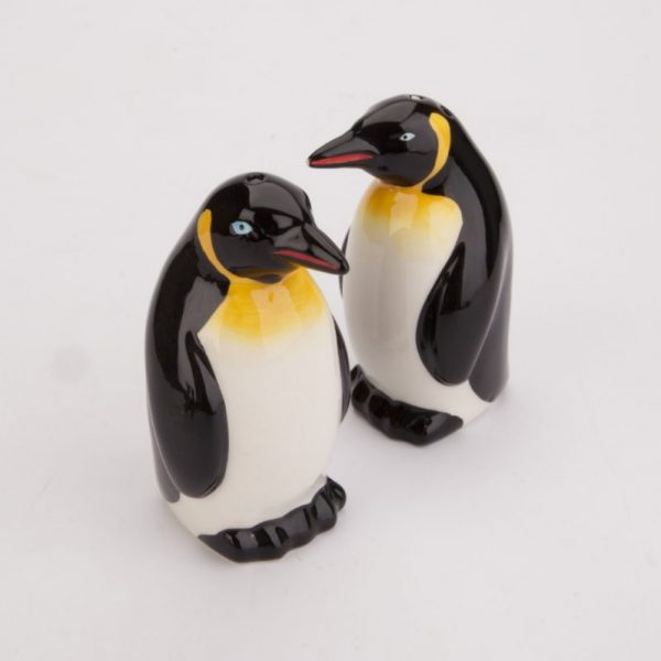 Solniczka i pieprzniczka pingwin