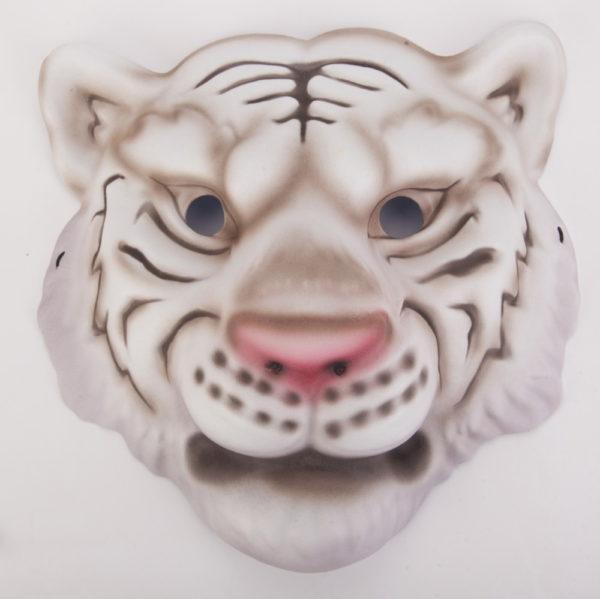 Maska biały tygrys