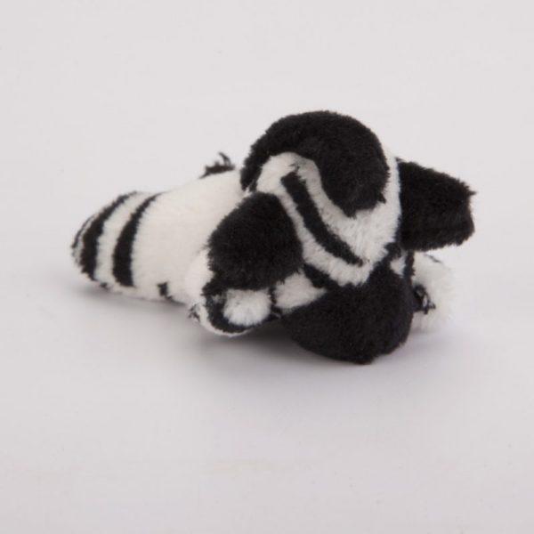 Magnes pluszowy zebra