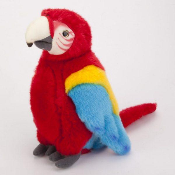 Papuga kolorowa 27 cm