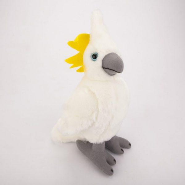 Papuga kakadu 23 cm