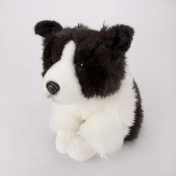Border Collie 26 cm to niepowtarzalna zabawka dla dzieci.