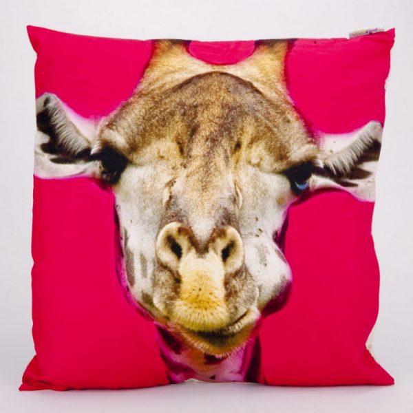 Poduszka 50x50 żyrafa
