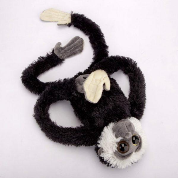Małpa czarno-biała 60 cm