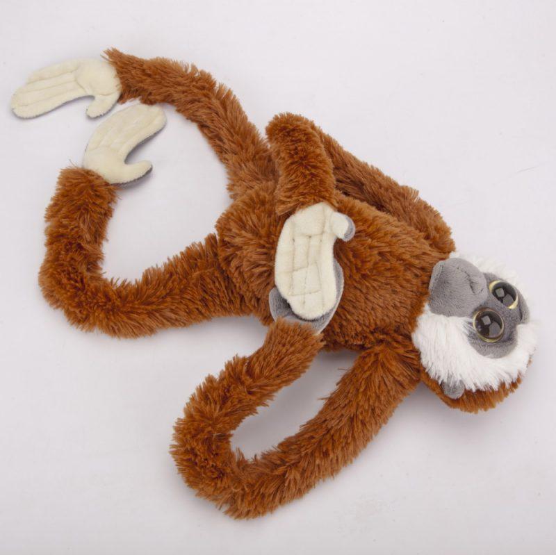 Małpa brązowo-szara 60 cm