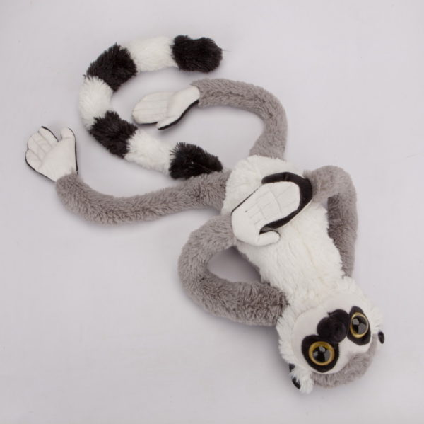Lemur z rzepami 60 cm