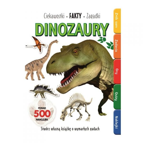 Książka Dinozaury ciekawostki fakty
