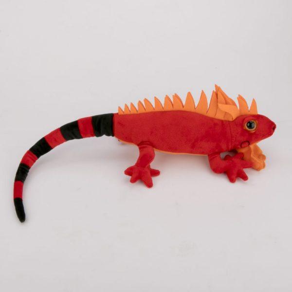 Iguana czerwona 50 cm