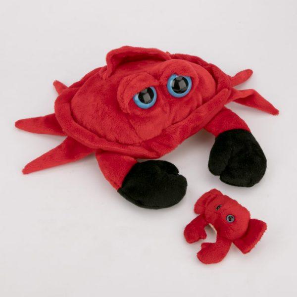 Krab z dzieckiem 30 cm