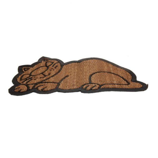 Wycieraczka gumowa kot