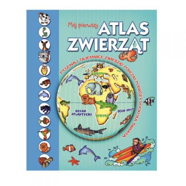 Książka Mój pierwszy atlas zwierząt