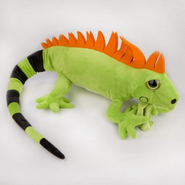 Iguana zielona duża 100 cm