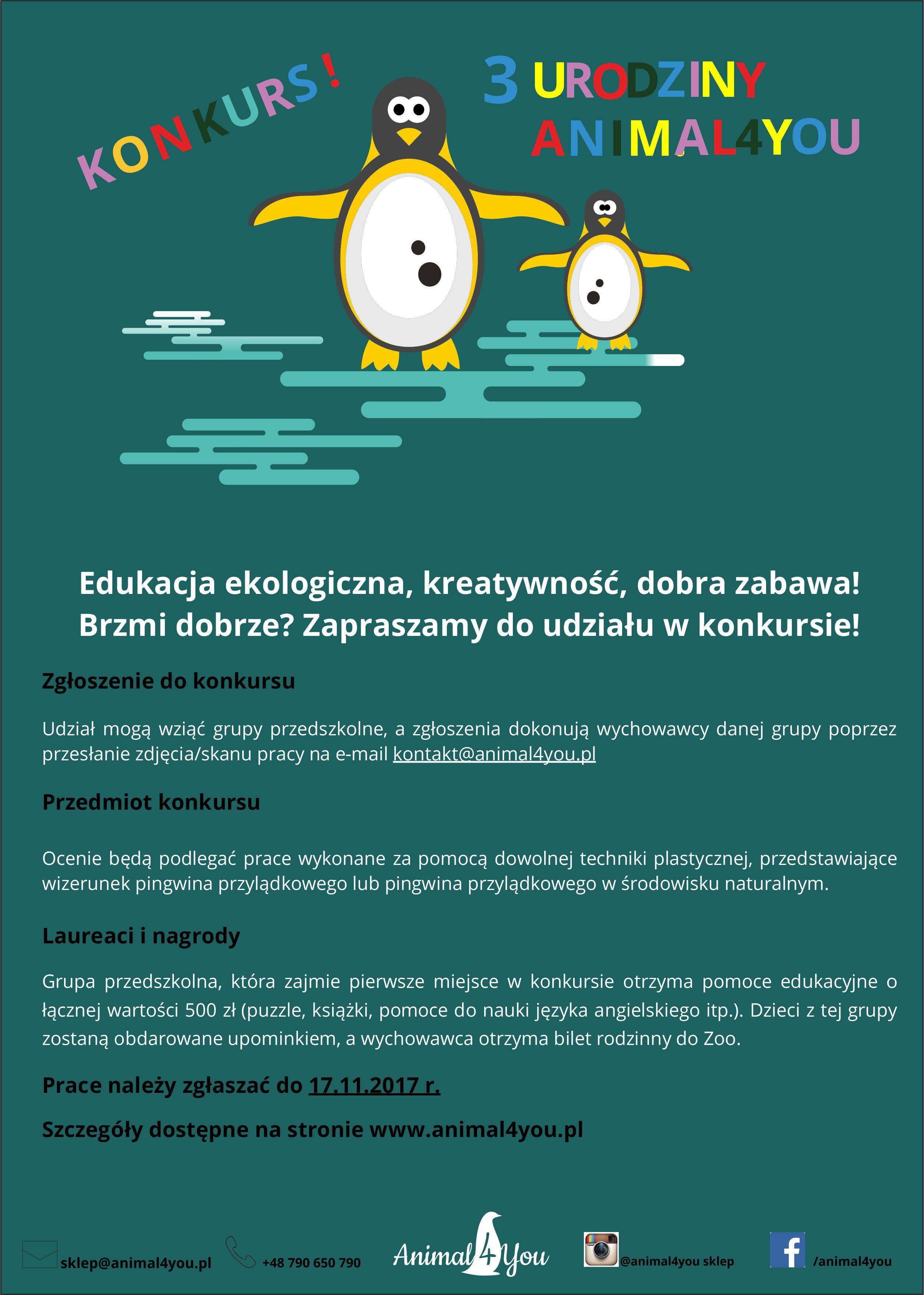 Konkurs dla wrocławskich przedszkoli!