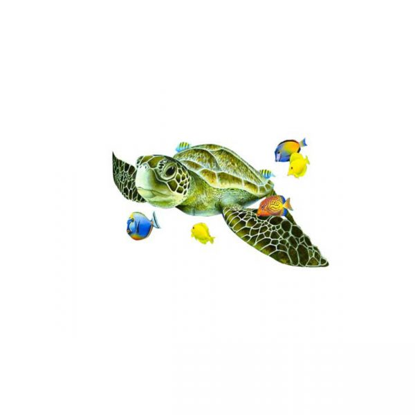 Tatuaż żółw