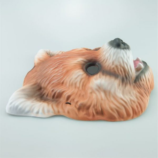 Maska panda czerwona