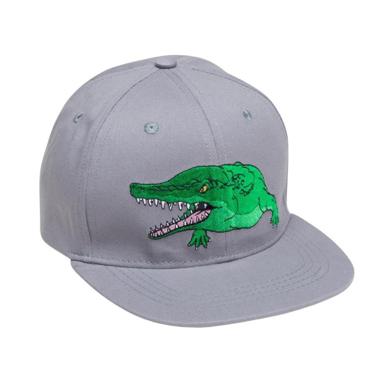 Czapka z daszkiem krokodyl