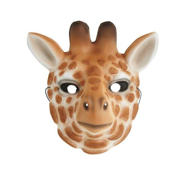 Maska żyrafa