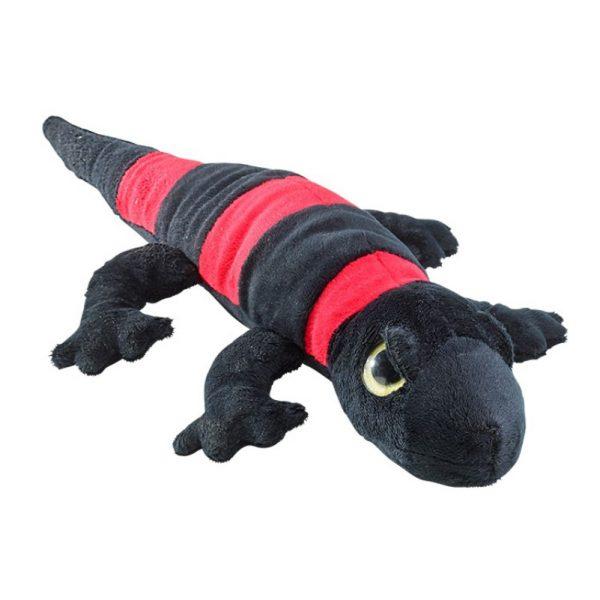 Salamandra czarno-czerwona 40 cm