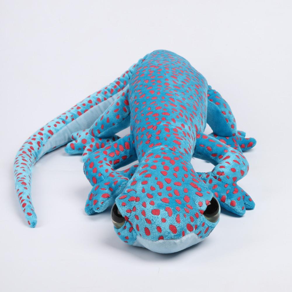 Gekon niebieski w kropki 100 cm
