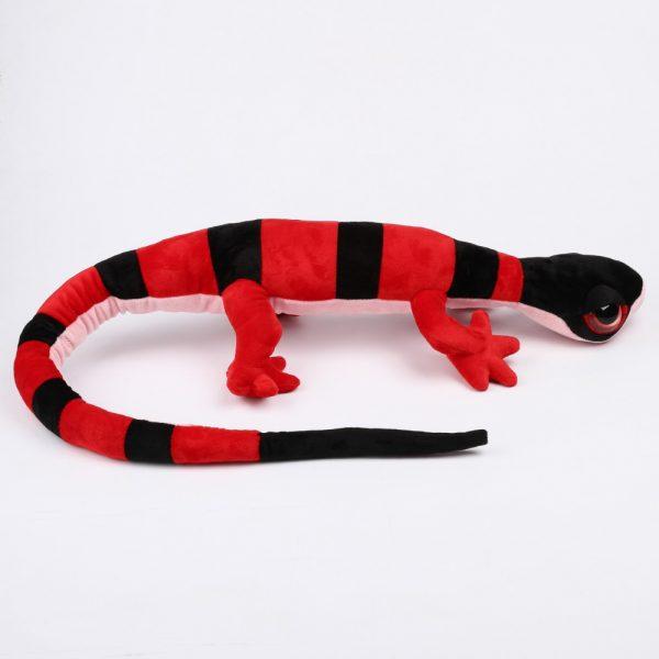 Gekon czerwony w paski 100 cm