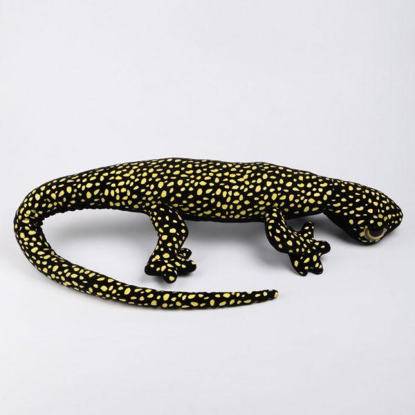 Gekon czarny w kropki 100 cm