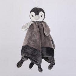 Przytulanka dla niemowlaka-pingwin