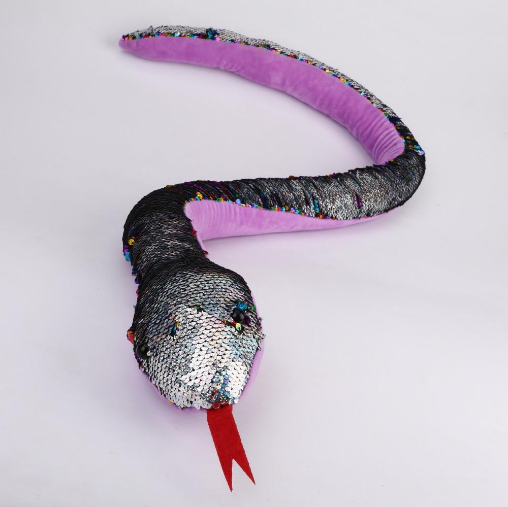 Wąż w cekiny 130 cm