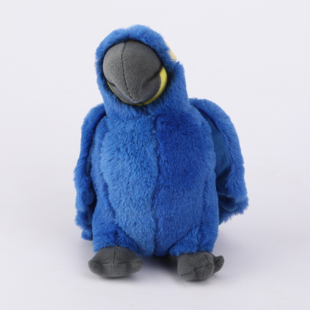 Papuga niebieska 20 cm