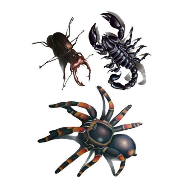 Tatuaż insekty