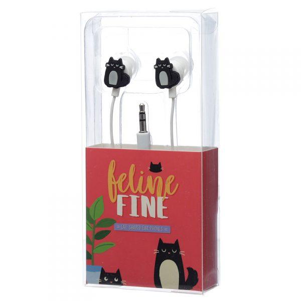Słuchawki douszne kot