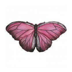 Magnes ceramiczny motyl różowy