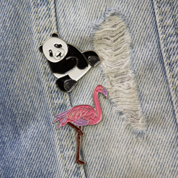 Przypinka panda