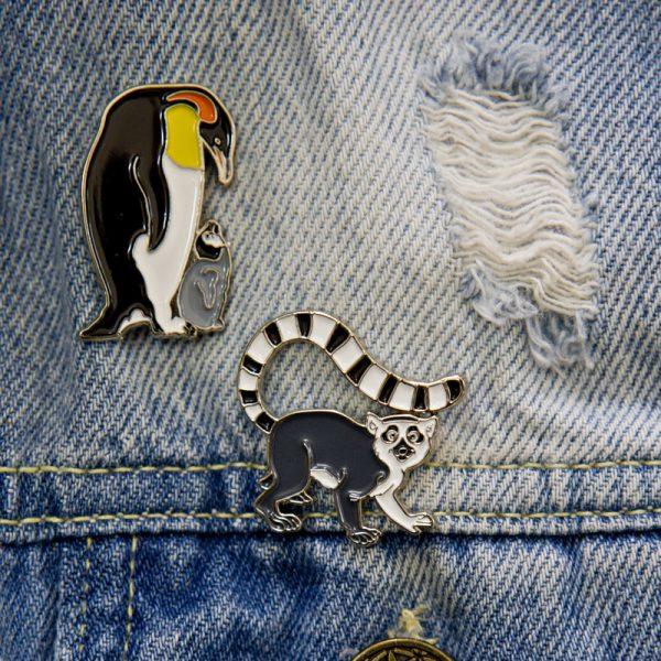 Przypinka pingwin