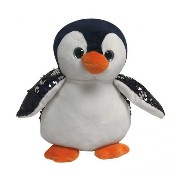 Pingwin z cekinami