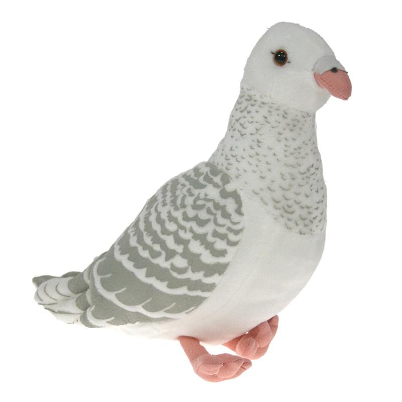Gołąb biały 25 cm