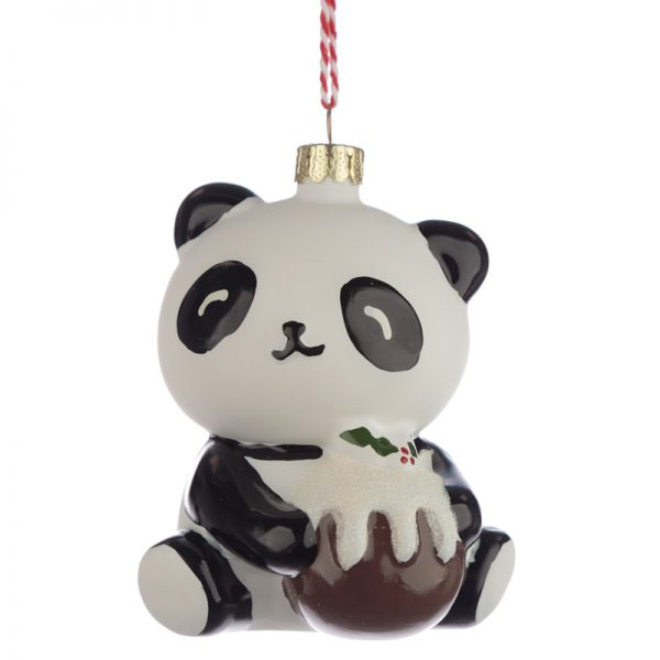 Bombka panda z puddingiem
