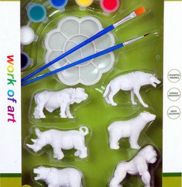 Zwierzęta dzikie do malowania