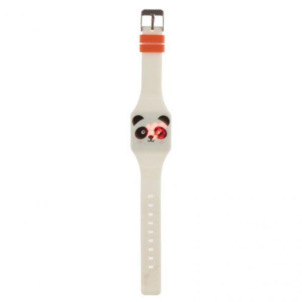 Zegarek silikonowy panda