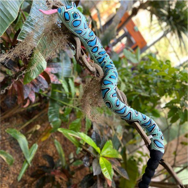 Wąż niebieski 137 cm